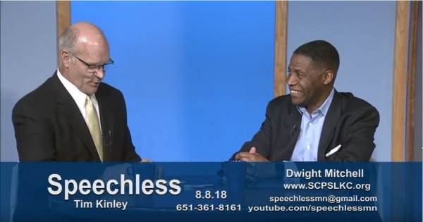Speechless Minnesota Guest Dwight Mitchell August 2018