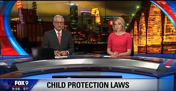 FOX 9 News - Child Protection Lawsuit